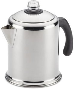 Yosemite Classic Stainless Steel 12-Cup Coffee Percolator
