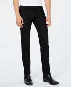 Slim-Fit Charcoal Black Jeans
