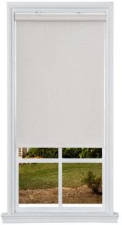 """Cordless Textured Thermal Fabric Roller Shade, 39"""" W x 66"""""""