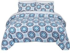 Scandi Floral Full/Queen Comforter Set Bedding