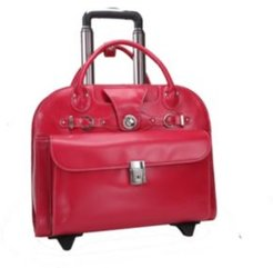 "Edgebrook 15"" Wheeled Ladies Laptop Briefcase"