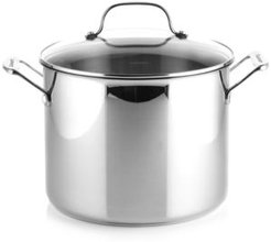Chef's Classic Stainless Steel 10 Qt. Covered Stockpot