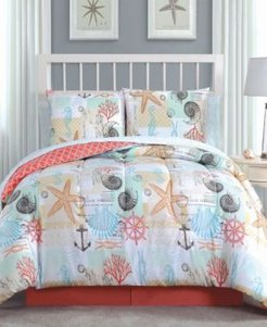 Belize 8 Pc Queen Bed In A Bag Bedding