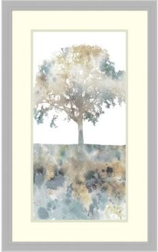 Water Tree I Framed Art Print