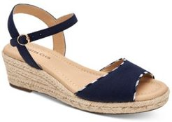 Luchia Platform Wedge Sandals, Created for Macy's Women's Shoes