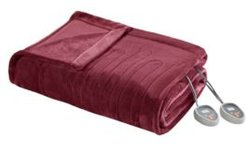 Electric Plush Full Blanket Bedding