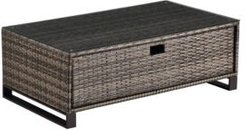 Oceanside Outdoor Coffee Table with Storage