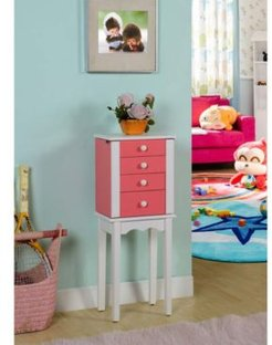 Promo Collection 3-Drawer Jewelry Armoire