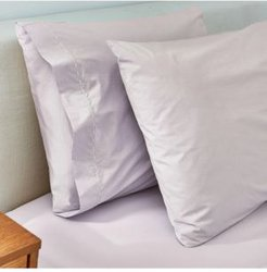 Washed Perccale Mist Cal King Sheet Set Bedding