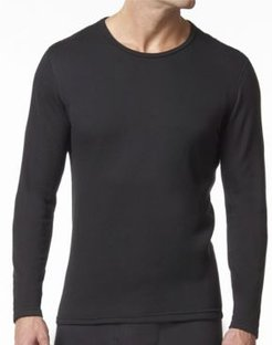 HeatFX Men's Fleece Thermal Long Sleeve T-Shirt