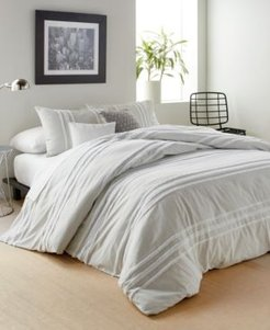 Chenille Stripe King Comforter Set Bedding