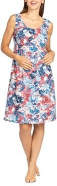 Cassidy Maternity & Nursing Lounge Dress Nightgown, Online Only