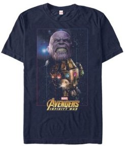 Avengers Infinity War Thanos Fierce Power Of The Gauntlet Short Sleeve T-Shirt
