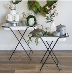 2-Piece and Metal Tray Tables