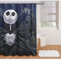 Nightmare Before Christmas Jack Shower Curtain Bedding