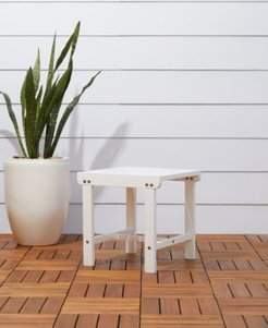 Bradley Outdoor Patio Wood Side Table