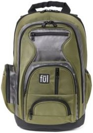 """Free Fallin' Padded Laptop Backpack, Fits Up to 17"""" Laptops"""