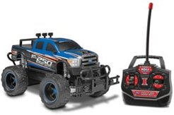 F-250 Heavy Duty 1:24 Electric Rc Car Monster Truck, Color Varies