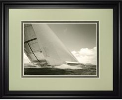 "Sea Spray I by Michael Kahn Framed Print Wall Art - 34"" x 40"""