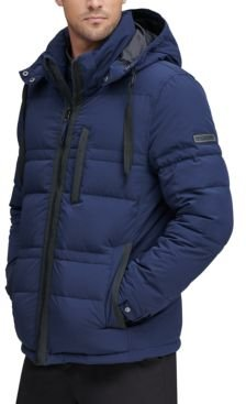 Huxley Crinkle Down Jacket with Removable Hood