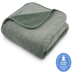 """The Vellux Heavy Weight 15lb 54"""" x 72"""" Weighted Blanket Bedding"""