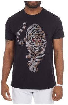 3D Graphic Red Eyed Tiger T-Shirt