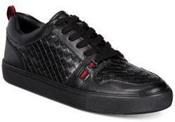 Eric Woven Low-Top Sneakers Men's Shoes