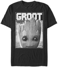 Guardian of the Galaxy Groot Poster, Short Sleeve T-shirt