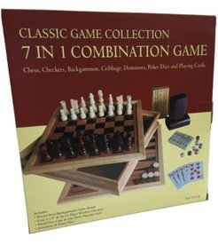 7 in 1 Combination Game Set