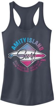 Jaws Amity Island Surf Boards And Repair Ideal Racer Back Tank
