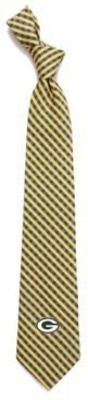 Green Bay Packers Poly Gingham Tie