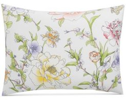 Damask Designs Blossom Cotton 300-Thread Count Standard Sham, Created for Macy's Bedding