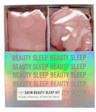 Satin Eye Mask and Standard/Queen Pillowcase Bedding