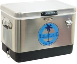Chill Portable Stainless Steel Cooler with Bottle Opener - 54 Quart