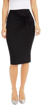 Twist-Side Pencil Skirt, Created for Macy's
