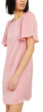 Inc Hammered-Satin Shift Dress, Created for Macy's