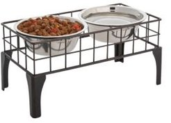 Grid Pet Food and Water Bowls