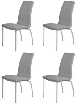 Becky Curved-Back Side Chair, Set of 4