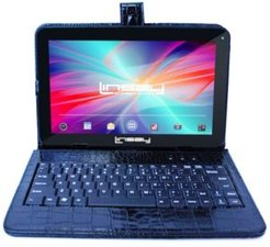 "10.1"" New Tablet Quad Core 32GB Android 10 Exclusive Luxury Bundle with Black Crocodile Style Keyboard"