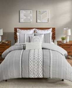 Imani 3 Piece Duvet Cover Set, Full/Queen Bedding
