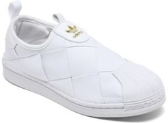 Originals Women's Superstar Slip-on Casual Sneakers from Finish Line
