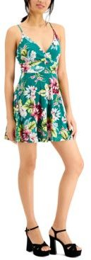 Floral-Print Cami Mini Dress, Created for Macy's