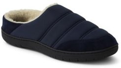 Quilted Fleece-Lined Slippers