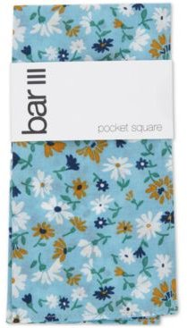 Dandy Floral Pocket Square, Created for Macy's