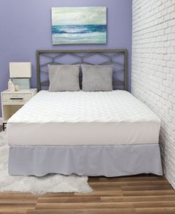 Fresh and Clean Mattress Pad with Ultra-Fresh Treated Fabric, Full