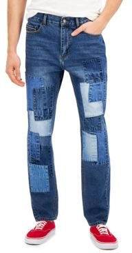 Jude Loose-Patch Jeans, Created for Macy's