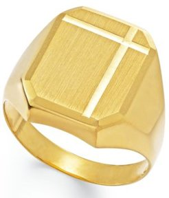 Polished Ring in 14k Gold