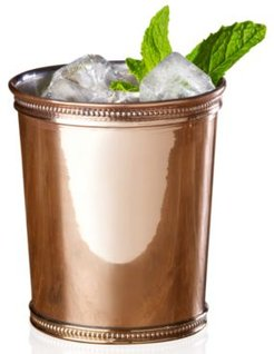 Solid Copper Traditional Mint Julep Cup