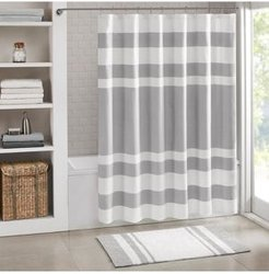 """Spa Waffle 72"""" x 72"""" Shower Curtain with 3M Treatment Bedding"""