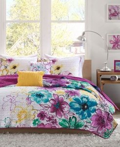 Olivia 4-Pc. Twin/Twin Xl Coverlet Set Bedding